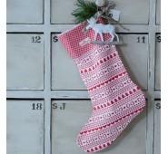 Kalėdinė dekoracija Kojinė