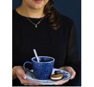 Puodelis Kallia dark blue