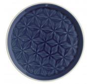 Lėkštė Kallia dark blue