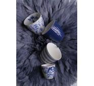 Latte puodelis Alice dark blue