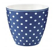 Latte puodelis Spot blue