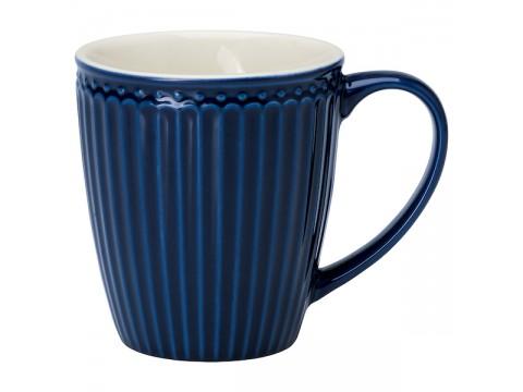 Puodelis Alice dark blue