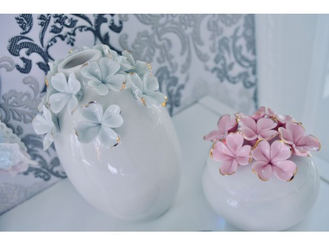 Indelis papuošalams Flower pink
