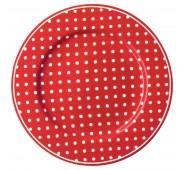 Lėkštė Spot red