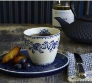 Latte puodelis Fleur Blue