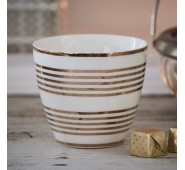 Latte puodelis Thiana gold