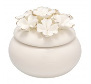 Indelis papuošalams Flower white