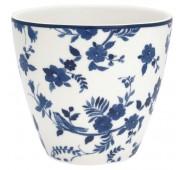 Latte puodelis Vanessa blue