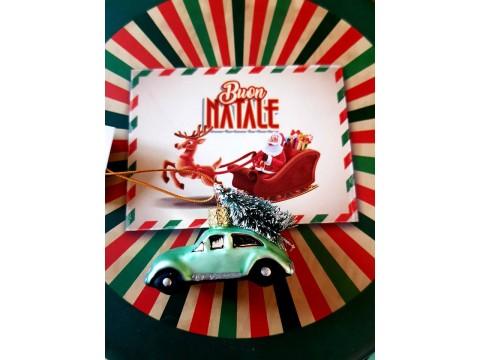 Kalėdinis žaisliukas Automobilis