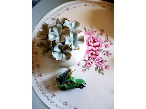 Indelis papuošalams Flower green