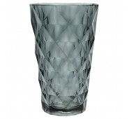 Stiklinė Water glass grey large