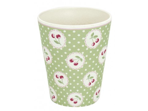 Bambukinis puodelis Cherry berry